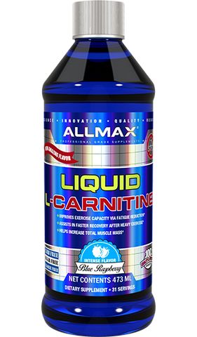 Liquid L-Carnitine - 473ml - Allmax - Health & Body Nutrition