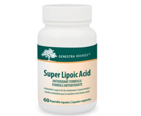 Super Lipoic Acid - 60vcaps - Genestra - Health & Body Nutrition