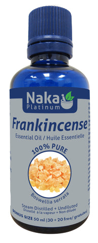 Frankencense Essential Oil - 50ml - Naka - Health & Body Nutrition