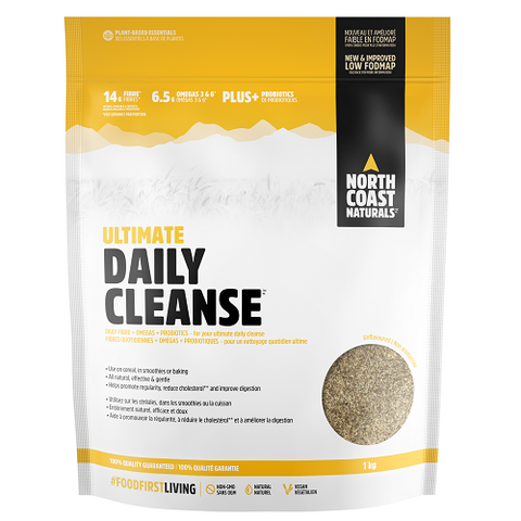 Ultimate Daily Cleanse 1000g - North Coast Naturals - Health & Body Nutrition