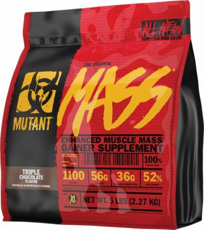 Muscle Mass Gainer - 5lb - Mutant - Health & Body Nutrition