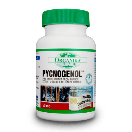 Pycnogenol - 100tabs - Organika - Health & Body Nutrition