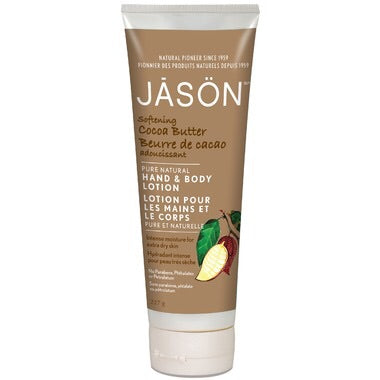 Hand & Body Lotion - Cocoa Butter - 227g - Jason - Health & Body Nutrition