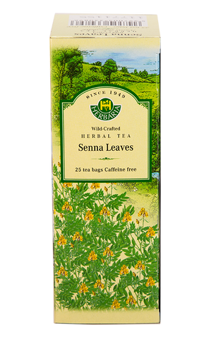Senna Leaves Herbal Tea - 25bags - Herbaria - Health & Body Nutrition