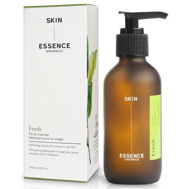 Fresh Facial Cleanser - 120ml - Skin Essence Organics - Health & Body Nutrition
