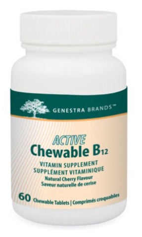 Active Chewable B12 - 60tabs - Genestra - Health & Body Nutrition