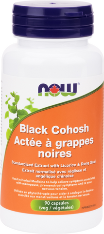 Black Cohosh - 90vcaps - Now - Health & Body Nutrition