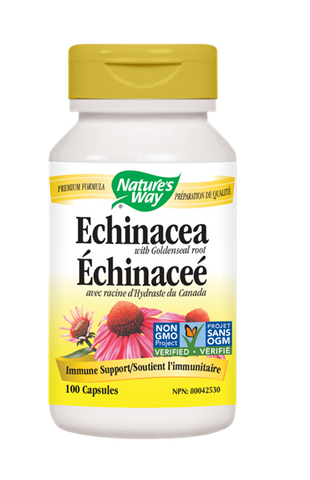 Echinacea With Goldenseal Root - 100caps - Nature's Way - Health & Body Nutrition