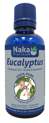 Eucalyptus Essential Oil - 50ml - Naka - Health & Body Nutrition
