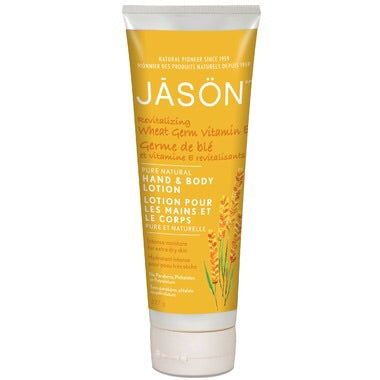 Hand & Body Lotion - Wheat Germ Vitamin E - 227g - Jason - Health & Body Nutrition