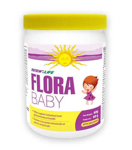 FloraBABY - 60g - Renew Life - Health & Body Nutrition