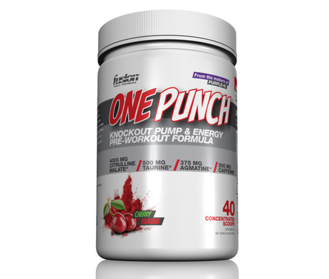 One Punch Pre-workout 40 servings- Fusion bodybuilding