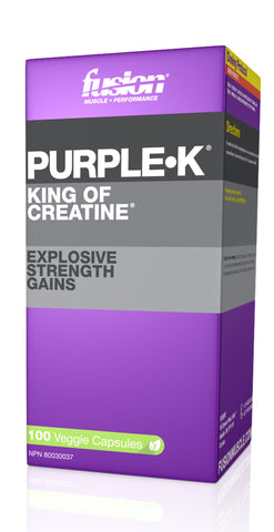 PURPLE K 100CAPS - FUSION BODYBUILDING - Health & Body Nutrition