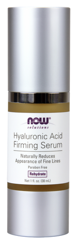 Hyaluronic Acid Firming Serum - 30ml - Now - Health & Body Nutrition