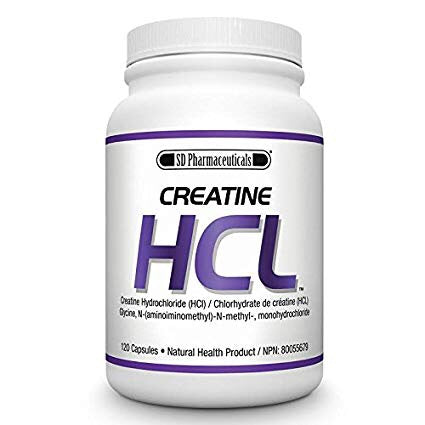 Creatine HCL - 120caps - SD Pharmaceuticals - Health & Body Nutrition