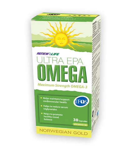 Norwegian Gold Ultra EPA - 30caps - Renew Life - Health & Body Nutrition