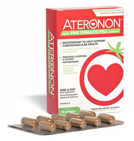 Ateronon - 30caps - The Tomato Pill - Health & Body Nutrition