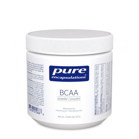 BCAA - 227g - Pure Encapsulations - Health & Body Nutrition