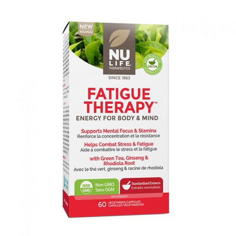 Fatigue Therapy - 30caps - NuLife - Health & Body Nutrition