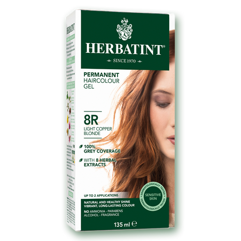 Herbatint Colour - 8R Light Copper Blonde - 135mL - A.Vogel - Health & Body Nutrition