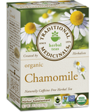 Organic Chamomile Tea - 20bags - Traditional Medicinals - Health & Body Nutrition