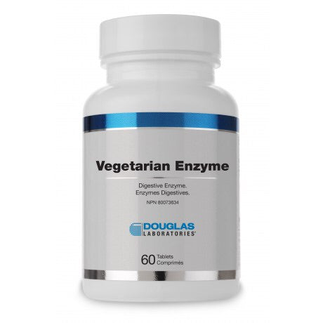 Vegetarian Enzyme - 60tabs - Douglas Labratories - Health & Body Nutrition
