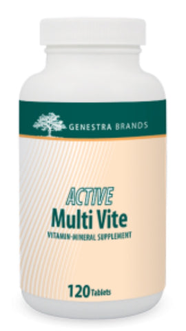 Active Multi Vite - 120caps - Genestra - Health & Body Nutrition