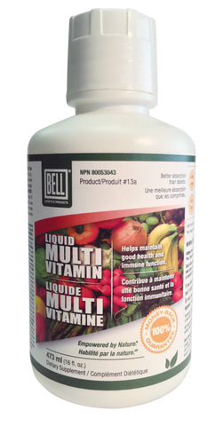 Liquid Multivitamin - 473ml - Bell - Health & Body Nutrition