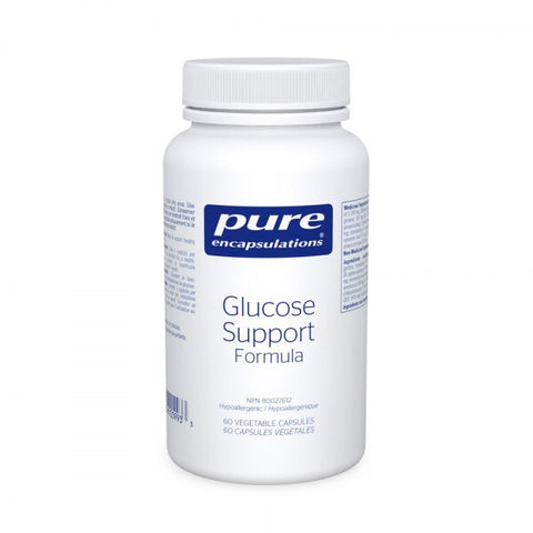Glucose Support Formula - 60vcaps - Pure Encapsulations - Health & Body Nutrition