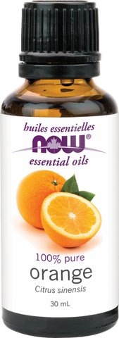 Orange Essential Oil - 30ml - Now - Health & Body Nutrition