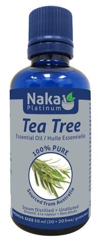 Tea Tree Essential Oil - 50ml - Naka - Health & Body Nutrition