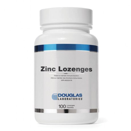 Zinc Lozenges - 100lozenges - Douglas Labratories - Health & Body Nutrition