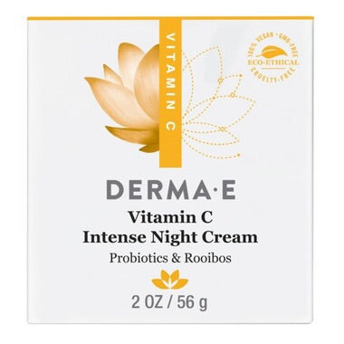 Vitamin C Intense Night Cream - 56g - Derma E - Health & Body Nutrition