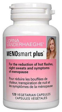MENOsmart Plus - 120vcaps - Lorna Vanderhaeghe - Health & Body Nutrition