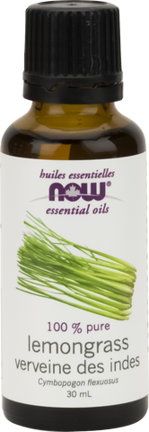 Lemongrass Essential Oil - 30ml - Now - Health & Body Nutrition
