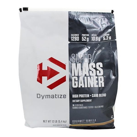 Super Mass Gainer - 12lbs - Dymatize - Health & Body Nutrition