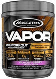 Vapor Pre-Workout - Glacier Berry Flavour 304g - Muscletech - Health & Body Nutrition