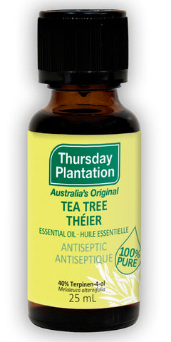 Tea Tree Essential Oil - 25ml - Thursday Plantation - Health & Body Nutrition