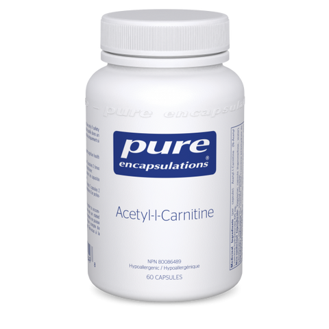 Acetyl-l-Carnitine - 60caps - Pure Encapsulations - Health & Body Nutrition