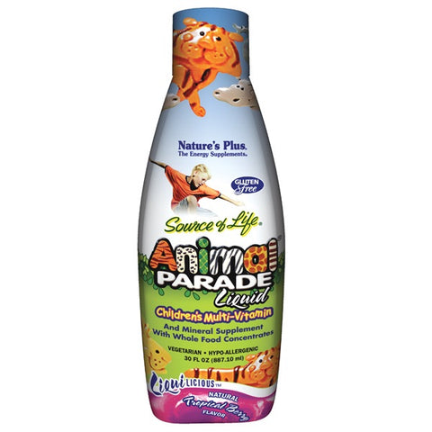 Animal Parade® Liquid Multi-Vitamin - Berry Flavor - Nature's Plus - Health & Body Nutrition