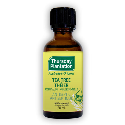 Tea Tree Essential Oil - 50ml - Thursday Plantation - Health & Body Nutrition