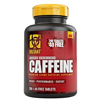 Caffeine 200mg - 240tabs - Mutant - Health & Body Nutrition