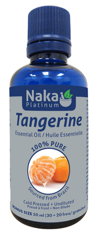 Tangerine Essential Oil - 50ml - Naka - Health & Body Nutrition