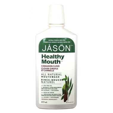Healthy Mouth Mouthwash - Cinnamon Clove - 473ml - Jason - Health & Body Nutrition