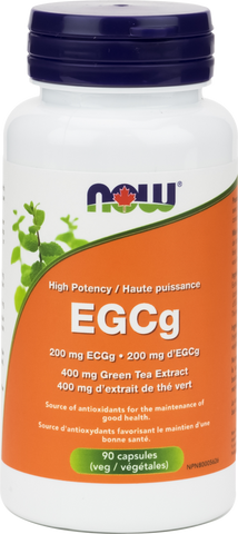 EGCg Green Tea Extract High Potency - 90caps - Now - Health & Body Nutrition