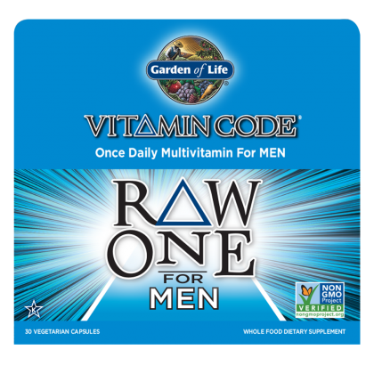 Raw One For Men - 75vcaps - Garden Of Life - Health & Body Nutrition