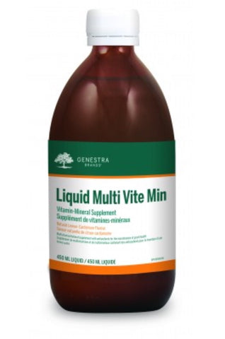 Liquid Multi Vite Min - 450ml - Genestra - Health & Body Nutrition