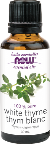 White Thyme Essential Oil - 30ml - Now - Health & Body Nutrition