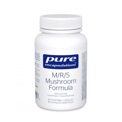 M/R/S Mushroom Formula - 60vcaps - Pure Encapsulations - Health & Body Nutrition