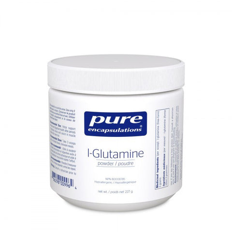 L-Glutamine Powder - 227g - Pure Encapsulations - Health & Body Nutrition